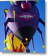 Purple People Eater And Friend Metal Print by Garry Gay