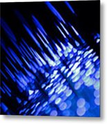 Purple Rain Metal Print by Dazzle Zazz
