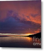 Purple Skies Metal Print by Heiko Koehrer-Wagner