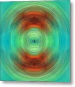 Qi - Energy Art By Sharon Cummings Metal Print by Sharon Cummings