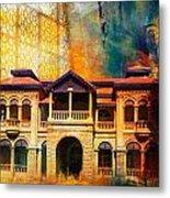 Quaid -e Azam House Flag Staff House Metal Print by Catf