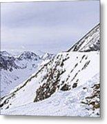 Quandary Peak Panorama Metal Print by Aaron Spong