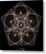 Quantum Star II Metal Print by Jason Padgett