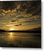 Queen Charlotte-haida Gwaii-sunset-1 Metal Print by Evan Spellman