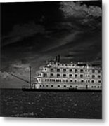 Queen Of The Mississippi  Metal Print by Mario Celzner
