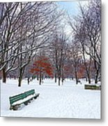 Queen's Park Metal Print by Valentino Visentini