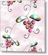 Rainbow Berries Metal Print by Anastasiya Malakhova