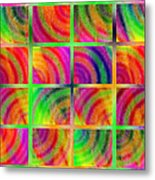 Rainbow Bliss 3 - Over The Rainbow H Metal Print by Andee Design