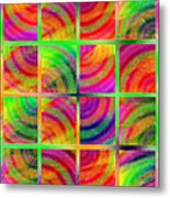 Rainbow Bliss 3 - Over The Rainbow V Metal Print by Andee Design