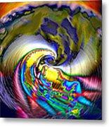 Rainbow Liberty V.5 Metal Print by Rebecca Phillips