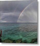 Rainbow Light Metal Print by Stelios Kleanthous