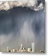 Rainbow Over Charlotte Metal Print by Chris Austin