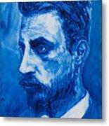 Rainer Maria Rilke Metal Print by Sviatoslav Alexakhin