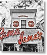 Rama Jama's Metal Print by Scott Pellegrin