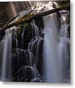 Ranger Falls Sunbeams Metal Print by Mike Reid