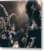 Raw Energy Of Led Zeppelin Metal Print by Daniel Hagerman