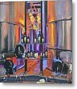 Raymond Vineyards Crystal Cellar II Metal Print by Donna Tuten