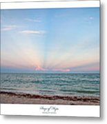 Rays Of Hope Metal Print by Michelle Wiarda