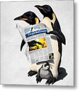 Read All Over Metal Print by Rob Snow