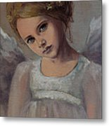 Reading Into Your Soul  Metal Print by Dorina  Costras