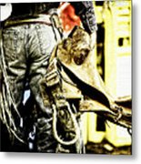 Ready To Ride Metal Print by Lincoln Rogers