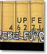 Rebel Force Metal Print by Donna Blackhall