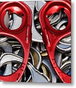 Recycled Love Metal Print by Andee Design