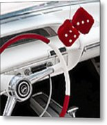 Red Dice Metal Print by Phil 'motography' Clark