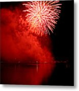 Red Fire Metal Print by Martin Capek