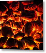 Red Hot 2 Metal Print by Bradley Clay