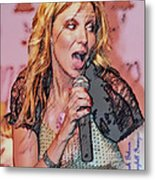 Red Hot Metal Print by Brian Graybill