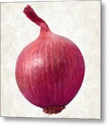Red Onion  Metal Print by Danny Smythe
