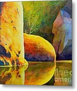 Reflection Metal Print by Robert Hooper