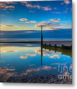 Reflections Metal Print by Adrian Evans
