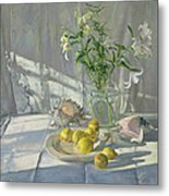 Reflections And Shadows  Metal Print by Timothy  Easton