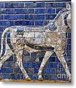 Relief From Ishtar Gate In Babylon Metal Print by Robert Preston