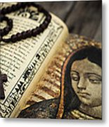 Religious Concept Metal Print by Aged Pixel