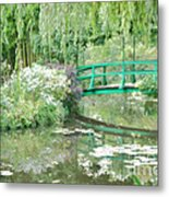 Remembering Monet  Metal Print by Olivier Le Queinec