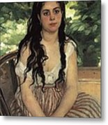 Renoir, Pierre-auguste 1841-1919. In Metal Print by Everett