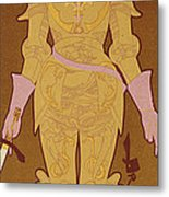 Reproduction Of A Poster Advertising Metal Print by Georges de Feure
