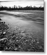 Restless River Metal Print by Davorin Mance