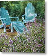Retirement II Metal Print by Patsy Sharpe