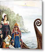 Reunited In Summerland Metal Print by Melissa A Benson