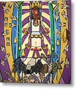 Revelation Chapter 4 Metal Print by Anthony Falbo