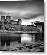 Rhuddlan Castle Metal Print by Dave Bowman