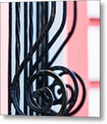Rhythm Of Architecture - Vertical Format Metal Print by Alexander Senin