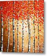 Rich Trees Metal Print by Denisa Laura Doltu