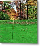 Ridgewood Golf And Country Club Metal Print by Frozen in Time Fine Art Photography