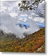 Ring Around The Mountain Metal Print by Susan Leggett