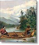 River Hunting Metal Print by Gary Grayson